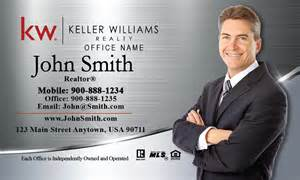 keller williams business card templates keller williams business card silver stainless design