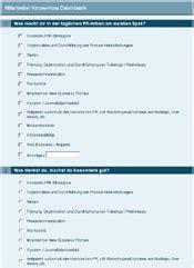 Fragebogen Design Vorlage Druckansicht