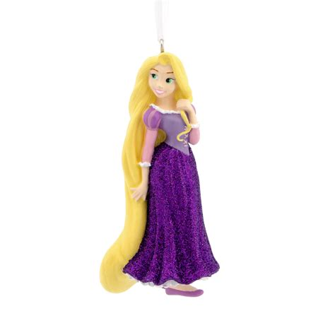 disney hallmark rapunzel christmas ornament