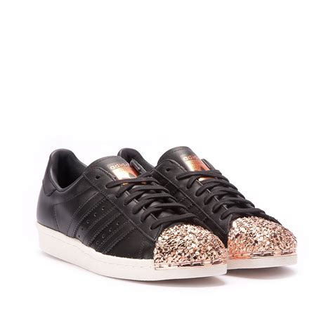 Adidas Superstar Metal by Adidas Superstar 80s W Quot Metal Toe Quot Tf Black Copper S76535