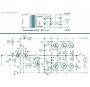 260 Watt Power Audio Amplifier  Electronic Circuit