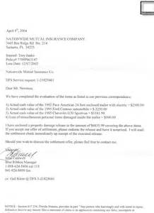 accident demand letter sample