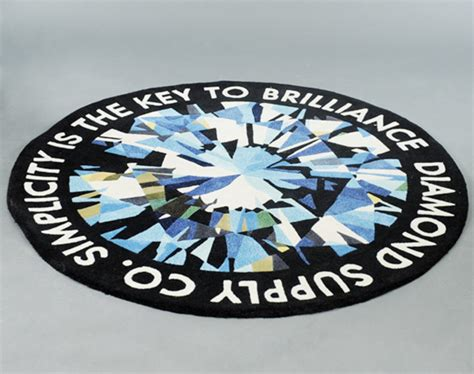 diamond supply company 8 quot white vinyl decal sticker free diamond supply rug roselawnlutheran