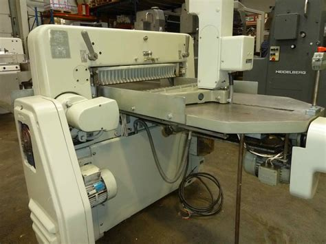Original Heidelberg Baut Safety Polar guillotines used finishing machines polar 72 ce paper cutter