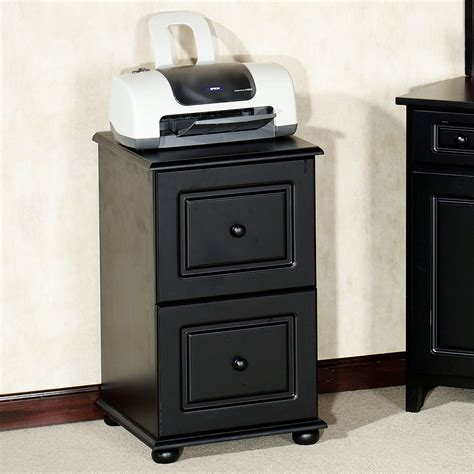 Auston Black File Cabinet Black File Cabinet Wood