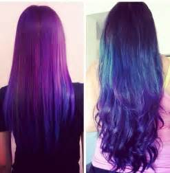 Blue and purple hair color ideas hair color trends 2017 ideas and