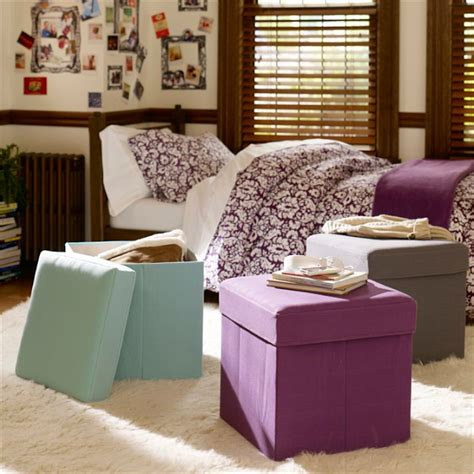dorm room storage ottoman must have dorm room essentials the soothing blog