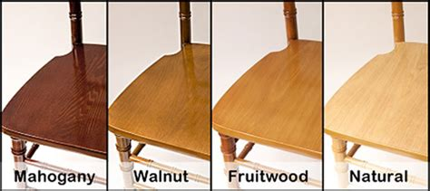 what color is fruitwood
