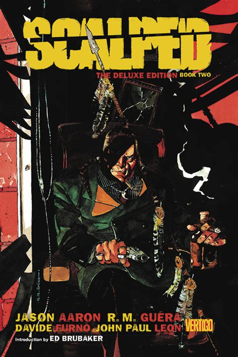 scalped deluxe edition hc 1401263631 apr150324 scalped hc book 02 deluxe edition previews world