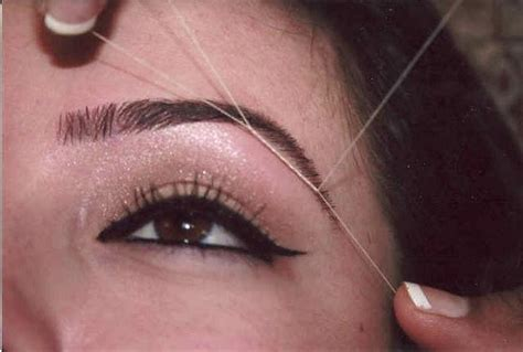 a bit of everything eyebrow threading