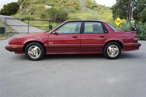 old car repair manuals 1989 pontiac 6000 engine control 1989 pontiac 6000 ste in el cajon ca 1 owner car guy