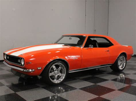 1968 camaro orange orange 1968 chevrolet camaro for sale mcg marketplace