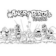 Coloring Pages Angry Birds And The Slingshot sketch template