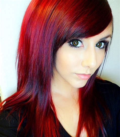 red hair color technicolor my hair color how to get dark red hair