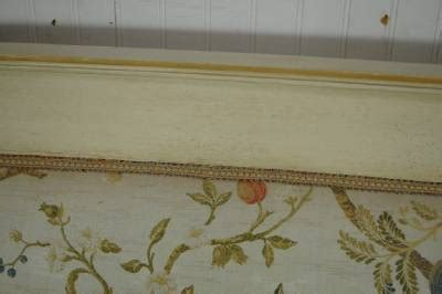vintage french neoclassical empire style gold gilt settee