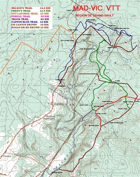 atv trails maps trail maps club vtt mad vic atv club
