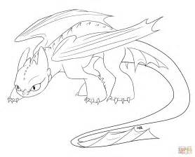 Creeping Toothless Coloring Page Free Printable Coloring Toothless Coloring Pages