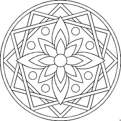 mandala colorear az dibujos para free coloring pages of sin mandala para colorear