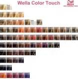 wella color touch chart wella color touch shade chart colour brown hairs
