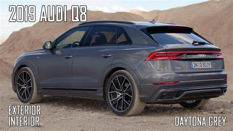 Audi Q8 Black by 2019 Audi Q8 Exterior Interior
