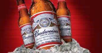 budweiser beer the great american lager
