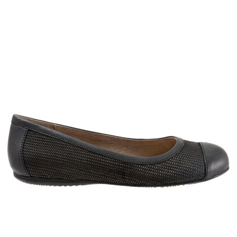 comfortable black flats with arch support softwalk napa women s flats with arch support free