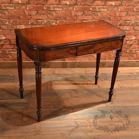 antique tea tables for sale antique regency fold tea table c 1820