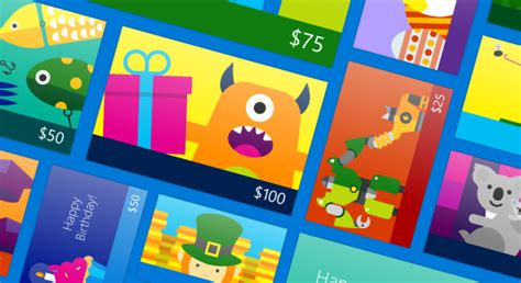 Microsoft Surface App Store Gift Card - digital gift cards from microsoft