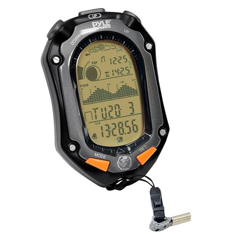 new pyle fishing w tide altimeter barometer