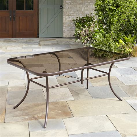Tempered Glass Patio Table Kmart Com Kmart Patio Table