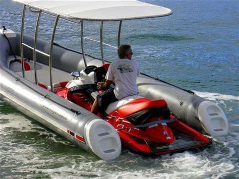 dockitjet a jet boat and a jetski video cool things - Jet Ski Mount On Pontoon Boat