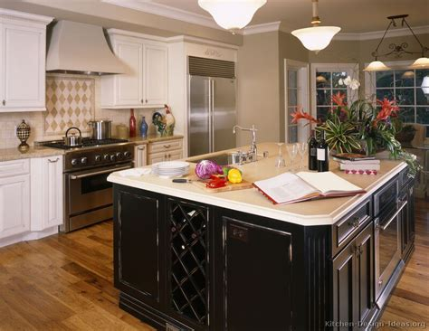 white kitchen cabinets with black island pictures of kitchens traditional white kitchen