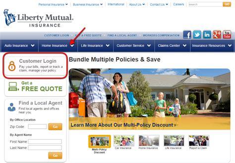 liberty mutual autocar insurance login   payment