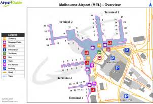 airport maps charts diagrams melbourne international
