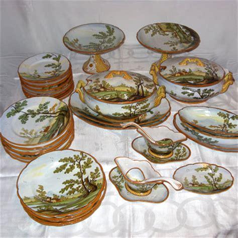 castelli in tavola di flaviano antichit 224 ceramica castelli servizio da
