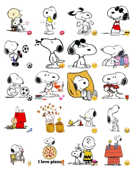 Snoopy Aufkleber by Snoopy Stickers Telegram