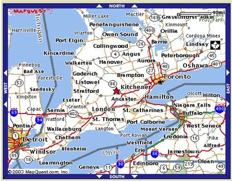 Kitchener Web Design ontario futsal association maps southwestern ontario