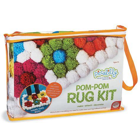 make your own rug kit pom pom rug kit new products mindware