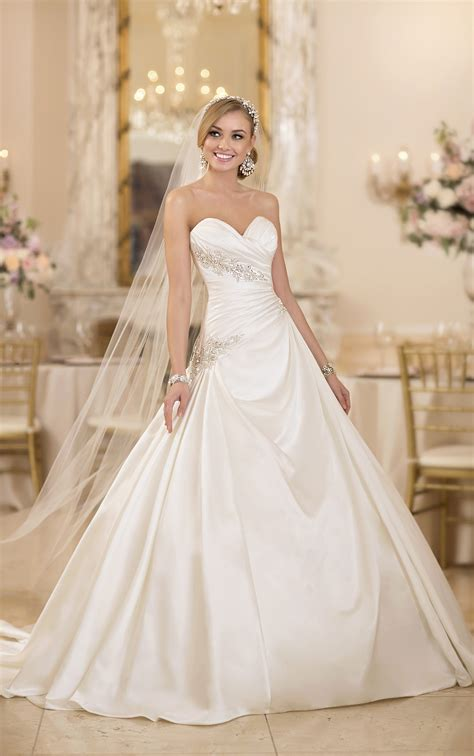 extravagant stella york wedding dresses modwedding
