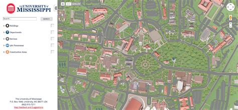 ole miss cus map to do explore our interactive map ole miss news