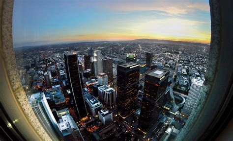 la city observation deck on the hunt for the best views in los angeles