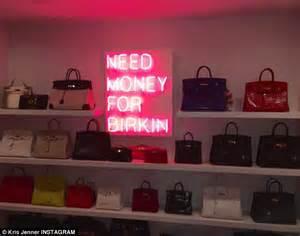 Kris Jenner Closet by Kris Jenner Gushes Pink Neon Sign In Custom