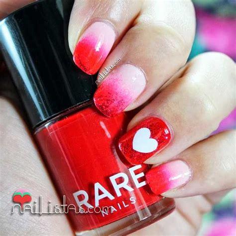 imagenes de uñas decoradas para san valentin u 241 as decoradas con corazones manicura de san valent 237 n
