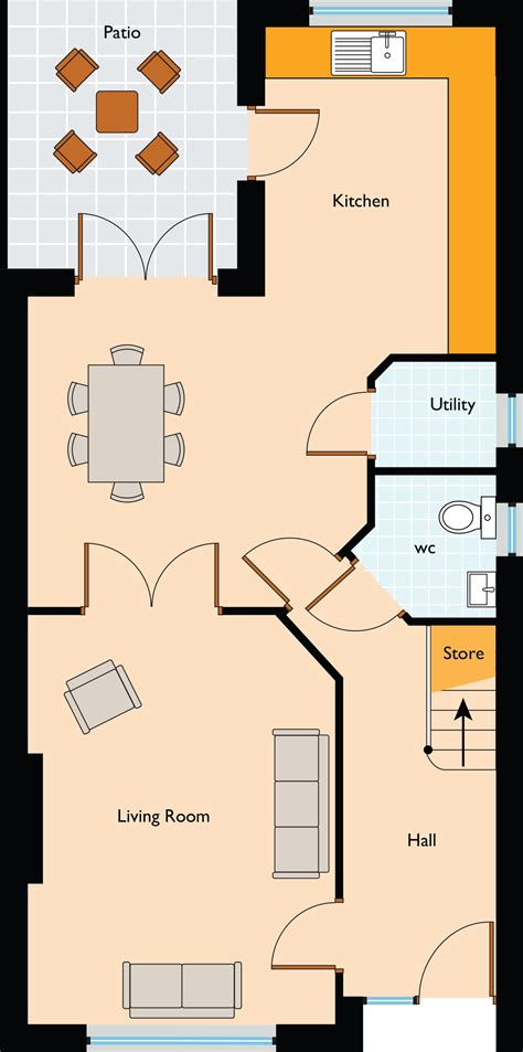 3 Bedroom House Floor Plans Rathmill Manor 3 Bedroom Semi Detached Homes Cavan
