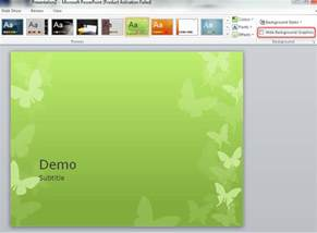 Replace Powerpoint Template by Replacing Background Graphics Of A Powerpoint Theme