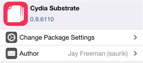 full version of cydia cydia substrate v0 9 6110 released with bug fixes for
