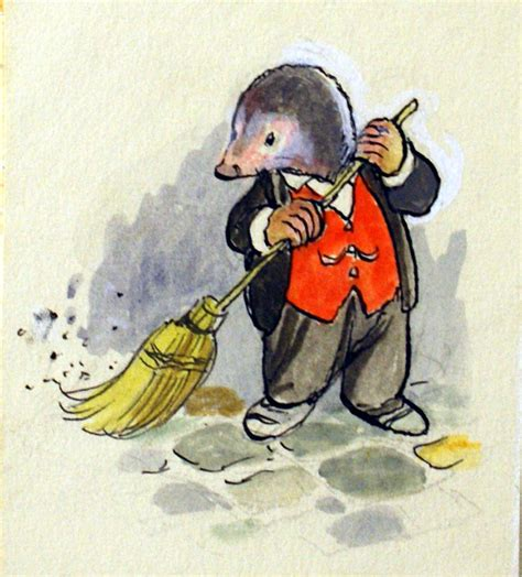 1409532712 originals wind in the willows the wind in the willows mole sweeps up original art by