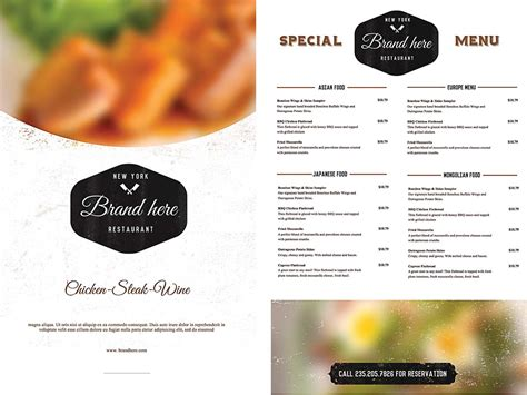 menu design template 40 free psd eps documents download free
