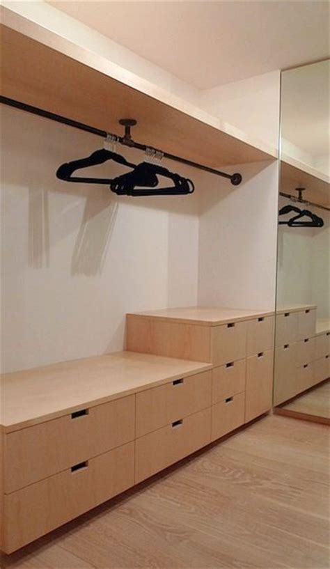 Walk In Wardrobe Fittings Diy by Black Pipe Closet Fittings Storage Solutions