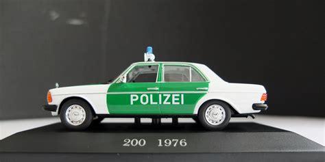 mercedes 200 polizei modellautostudio haan
